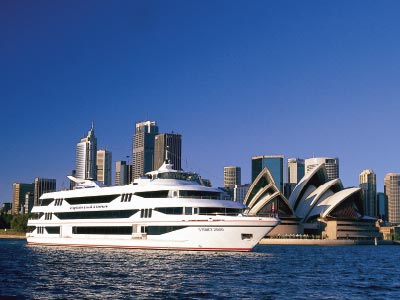 Captain Cook cruise on Sydney Harbour