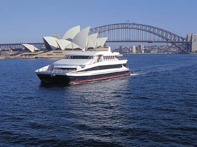 Majistic river cruises, Sydney harbour