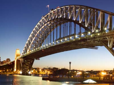 Sydney Bridge and Harbour