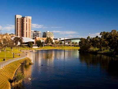 Grand Adelaide tour, River Torrens