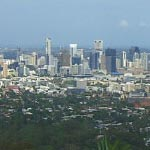 Mt Coot Tha lookout