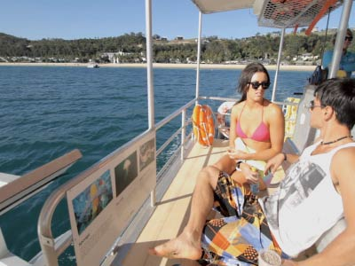 Day cruise at Tangalooma Island Resort on Moreton Island