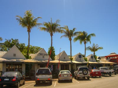 Broome town shops