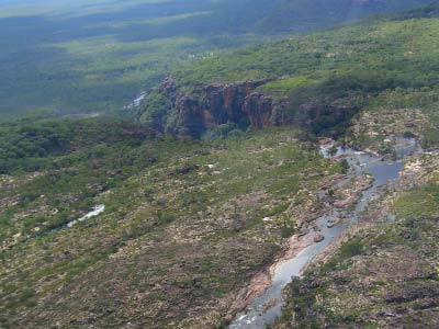 Aerial view of Kakadu National Park