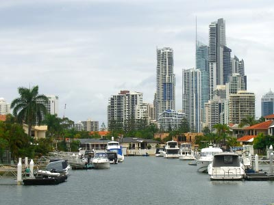 Surfers Paradise on the Gold Coast