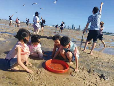 Crab Trip - Sand Island Stop