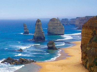 classic view of the 12 apostles on the great ocean road
