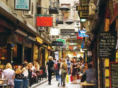 Centre Place laneway - Grand Melbourne Tour