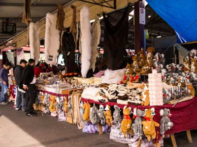 Queen Victoria Market goods and souvenirs