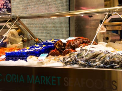 Melbourne city tour morning tour gray line for Fish market queens