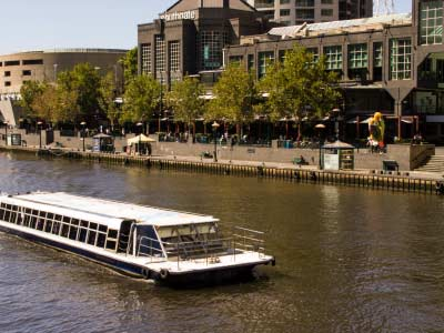 Cruising the Yarra River