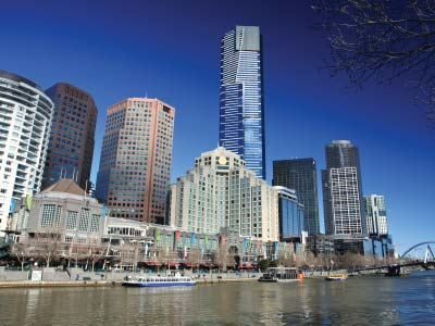 Southbank and the Yarra River