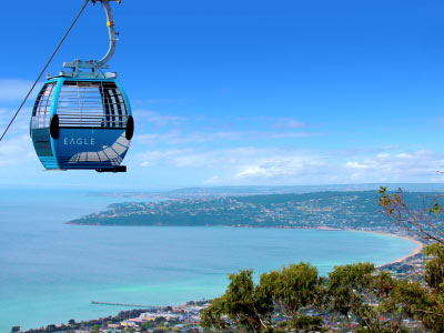 Eagle Chairlift, Arthurs Seat, Mornington Peninsula