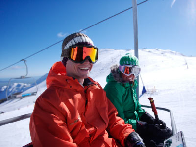 Chairlift at Mt Buller