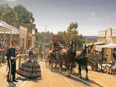 Main street at Sovereign Hill
