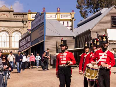 Redcoat Soldiers at Sovereign Hill
