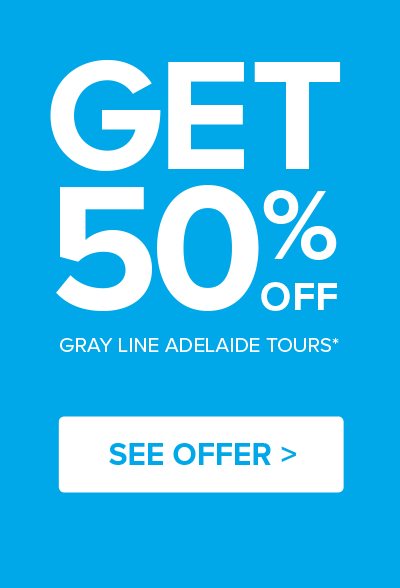 50% Off Gray Line Adelaide Tours Offer