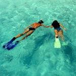 Snorkelling on Rottnest Island