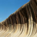 The amazing Wave Rock formation!