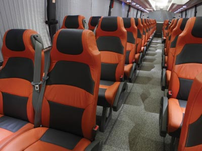 Coach priority seating