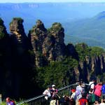 The Three Sisters viewing platform