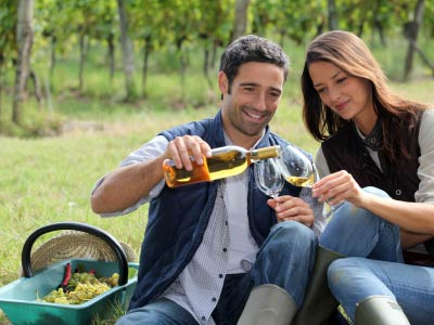 Enjoy a glass of wine in the Hunter Valley