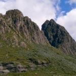 Rugged peaks of Cradle Mountain
