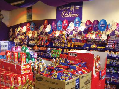 Cadbury Chocolate Shop