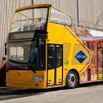 Gray Line Hobart open top City Explorer bus