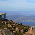 Views from Hobart from Mt Wellington