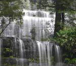 long exposure of russel falls with good water flow
