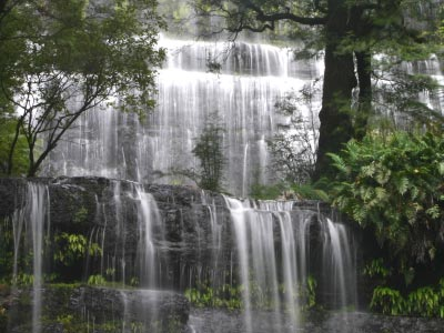 Russell Falls in Mount Field National Park